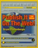 Publish It on the Web