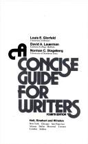 A Concise Guide for Writers
