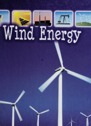 Cover of: Wind energy | David Armentrout
