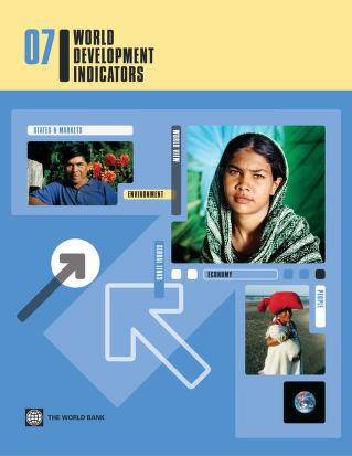 World Development Indicators 2007 by World Bank
