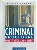 Criminal Procedure by Marvin Zalman