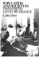 Population and society in twentieth century France